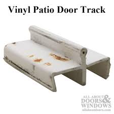 Vinyl Patio Door Patio Glass Door Track White Discontinued