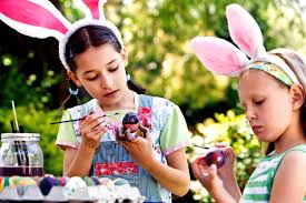 kids easter eggs coloring eggs jpg