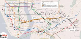 East River Ferry Map L Train Alternative Rethink Studio
