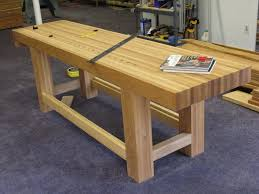 Woodworking Bench Top Design by Planning To Build A Workbench Area Need A Lot Of Advice