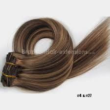 Online Clip In Hair Extensions by 7pcs Full Head Clip In Hair Extensions 100 Human Remy Hair Mixed