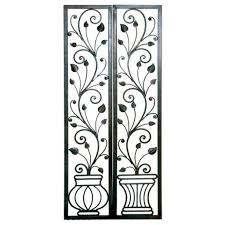 wrought iron decorative wall panels wall decor iron home