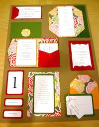 folded invitation custom invitations u2014 the papery