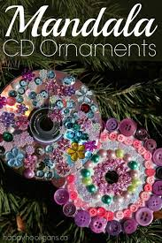cd ornaments happy hooligans crafts for