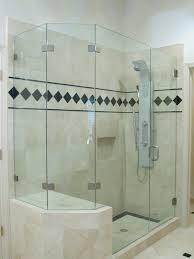 bathroom frameless glass shower doors frameless pivot glass