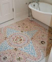 Mosaic Bathroom Floor Tile Ideas 206 Best Mosaic Images On Pinterest Mosaic Art Mosaic