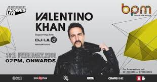 Seeking Hyd Valentino Khan Live Bpm Hyderabad 11 Feb 2018 Partyowl In