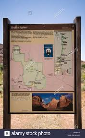 Map Of National Parks In Utah by Zion Canyon National Park Utah Usa At Springdale Southern