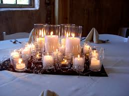 candle wedding centerpieces interesting candle centerpiece ideas wedding the specialiststhe