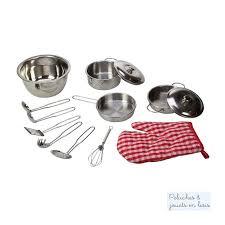 dessin casserole cuisine jouet batterie de cuisine dinette en metal pour petit cuisinier 3 ans
