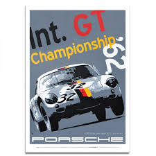 martini and rossi poster porsche poster int gt championship porsche 356 abarth by nicolas
