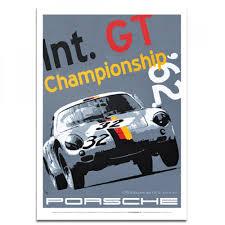 martini rossi poster porsche poster int gt championship porsche 356 abarth by nicolas