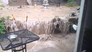 southern california backyard flooding image with astounding