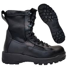 wellco us army issue temperate weather infantry combat boot black