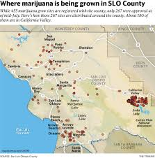 Juarez Mexico Map by Marijuana Grows Could Be Banned In California Valley The Tribune