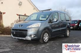 peugeot partner 2009 wheelchair cars ireland wheelchair cars glasson wheelchair