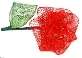 117 best mesh ribbon crafts images on crafts
