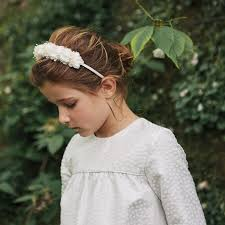 flower hairband flower hairband ivory