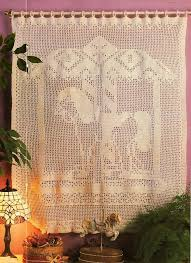 Crochet Lace Curtain Pattern 91 Best Filet Crochet Images On Pinterest Crochet Patterns