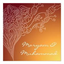 islamic wedding invitations personalized islamic wedding invitations custominvitations4u