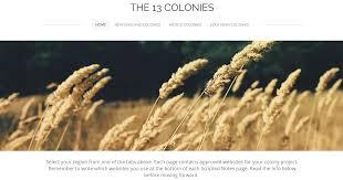 13 colony reports 5th grade files