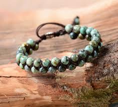 bracelet handmade jewelry images Men bracelet cool african stone beads braided cuff bracelet jpg
