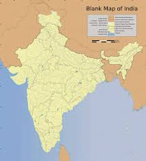 Blank Map Of South Asia by Blank Map Of India Free Printable Maps