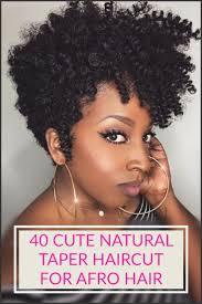 tapered haircut natural hair 40 stylish and natural taper haircut tapered haircut haircuts