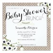 baby shower brunch invitations baby shower brunch invitation wording s44design