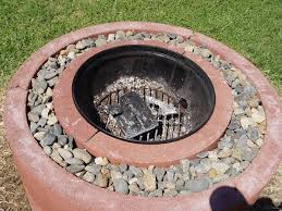 Fire Pit Ring With Grill by 50 Fire Pit Using Concrete Tree Rings