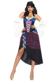 Scary Gypsy Halloween Costume Tarot Card Gypsy Costume