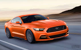 orange mustang convertible 2015 ford mustang convertible sports cars are now more powerful