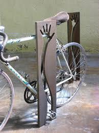 steel bike rack original design táctil by antonio de marco