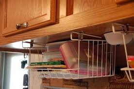 Kitchen Cabinet Storage Bins Under Cabinet Basket Storage 3 Pinterest Basket Storage