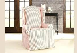 sure fit slipcovers wing chair sure fit wing chair cover best sure fit slipcovers images on