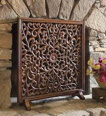decorative fireplace screens with doors some types of decorative