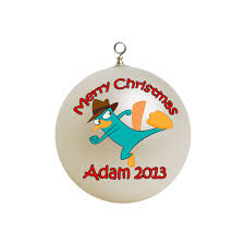 personalized perry the platypus ornament 2