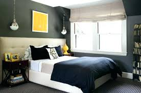 grey and yellow wall decor room design architecture decoration