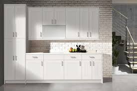 white shaker cabinet doors bianca white shaker kitchen cabinets in stock flat panel vs style