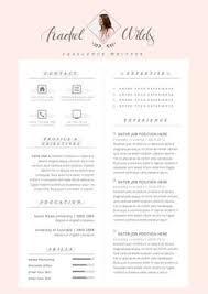 Resume Templates With Cover Letter Creatieve Cv Sjabloon Cv Template Instant Download Door Cvdesignco