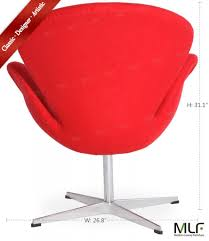 arne jacobsen swan chair mlf