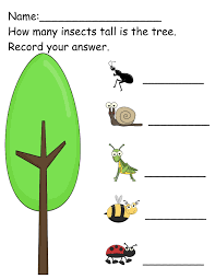 the crazy pre k classroom insect invasion bugs math and literacy