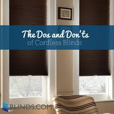 Curtains Vs Blinds The Dos And Don U0027ts Of Cordless Blinds The Finishing Touch