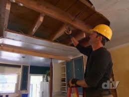 How To Remove Load Bearing Interior Wall Load Bearing Beam Installation Diy Network Youtube