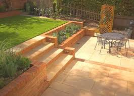 Small Sloped Garden Design Ideas Small Sloping Garden Design Stepped Garden Pinterest Sloping