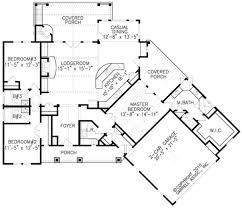 large mid century modern home plans