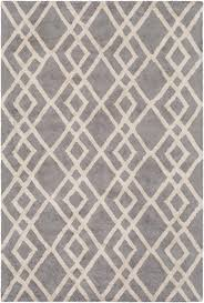 Modern Contemporary Rug Modern Rug Silk Valley Awsv 2171 Gray Ivory Contemporary Rug