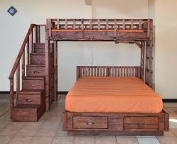 Bunk Bed Options The Stairway Wooden Bunk Beds Forever Redwood