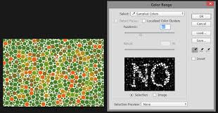 reverse color blind test only people with red green color