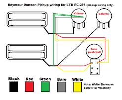 wiring diagram ec 256 the esp guitar company